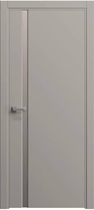 Межкомнатная дверь Софья Original Темно-серый шелк 330.04