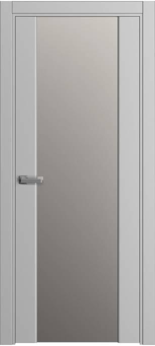 Межкомнатная дверь Sofia Original, ash, монохромный кортекс