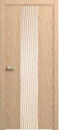Дверь Софья Rain Дуб классический, шпон брашированный 91.21