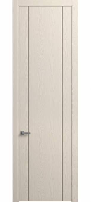 Межкомнатная дверь Софья Skyline Ясень бежевый, эмаль структурированная 43.103