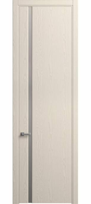 Межкомнатная дверь Софья Skyline Ясень бежевый, эмаль структурированная 43.104