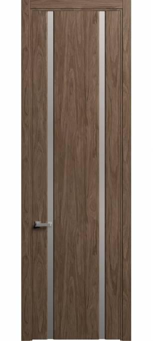 Межкомнатная дверь Sofia Skyline Орех, шпон 88.102