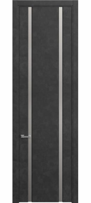 Межкомнатная дверь Софья Skyline Темный бетон, кортекс 230.102