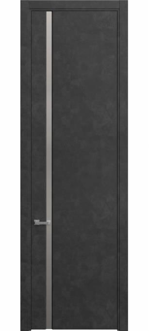 Межкомнатная дверь Софья Skyline Темный бетон, кортекс 231.104