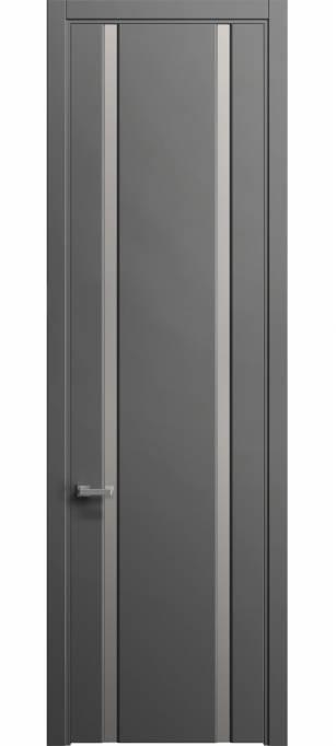 Межкомнатная дверь Софья Skyline Грифельный шелк 331.102