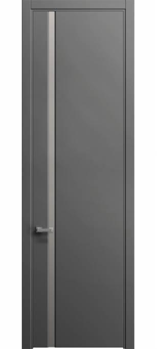 Межкомнатная дверь Софья Skyline Грифельный шелк 331.104