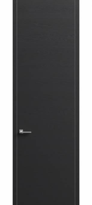Межкомнатная дверь Софья Skyline Ясень черный, эмаль структурированная 36.96