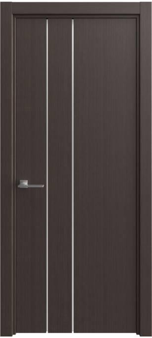 Межкомнатная дверь Sofia Vision Венге, шпон 06.44