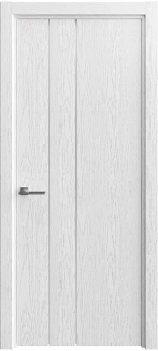 Межкомнатная дверь Софья Vision Ясень белый, эмаль структурированная 35.44