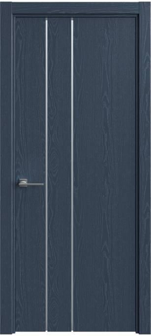 Межкомнатная дверь Sofia Vision Темно-синий ясень, эмаль структурированная 310.44