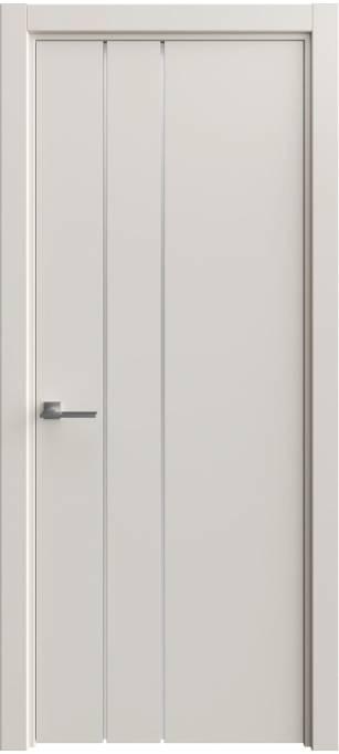 Межкомнатная дверь Софья Vision Светло-серый шелк 332.44